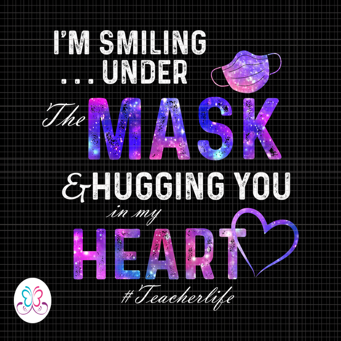 I M Smiling Under The Mask And Hugging You In By Crellashope On Zibbet