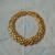 vintage gold plated st.john statement choker necklace signed