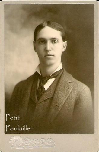 Mr JW Givens 1896 Victorian Cabinet Photograph Antique Businessman Portrait