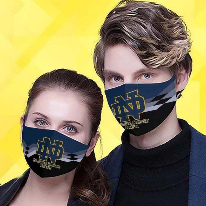 Notre Dame Fighting Irish Protective Face Mask Cotton mask Washable mask Face