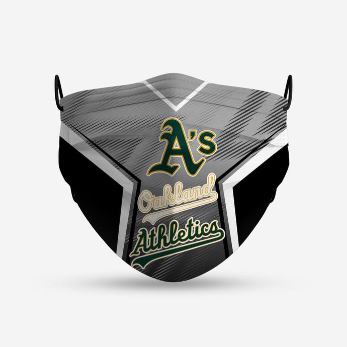 Oakland Athletics Style 4 Face Mask, Adult Face Mask, Sport Face Mask, Reusable