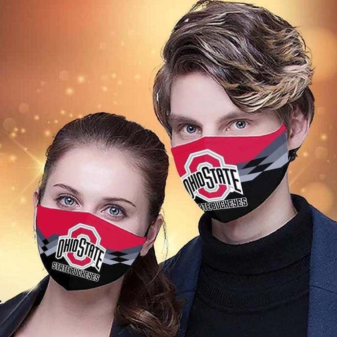 Ohio State Buckeyes Protective Face Mask Cotton mask Washable mask Face Covering