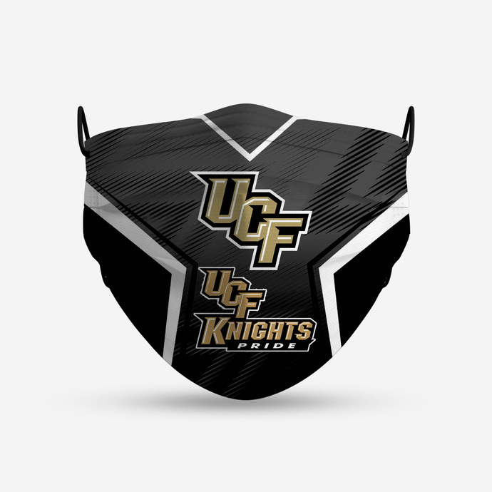 UCF Knights Pride Style 4 Face Mask, Adult Face Mask, Sport Face Mask, Reusable