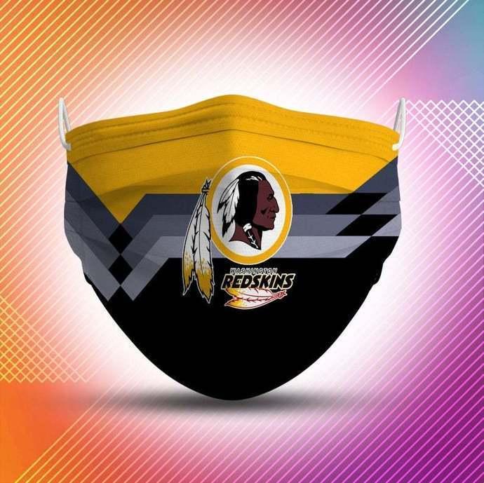 Washington Redskins Protective Face Mask Cotton mask Washable mask Face Covering