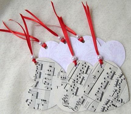 Hearts. Music. Love. Pearls. Six Passionate Handmade Gift Tags