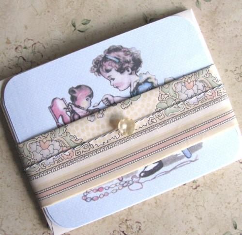 Little Mother Mid-Century Stationery Note Flat Set