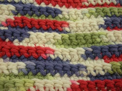 Crocheted-Duster Tool Cover Field of Dreams Handmade