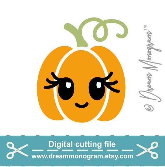Pumpkin Svg Cutie Svg Pumpkin Cutie By Kathytylerdesign On Zibbet