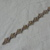 Copy of vintage coro silver clear crystals bracelet signed sparkling