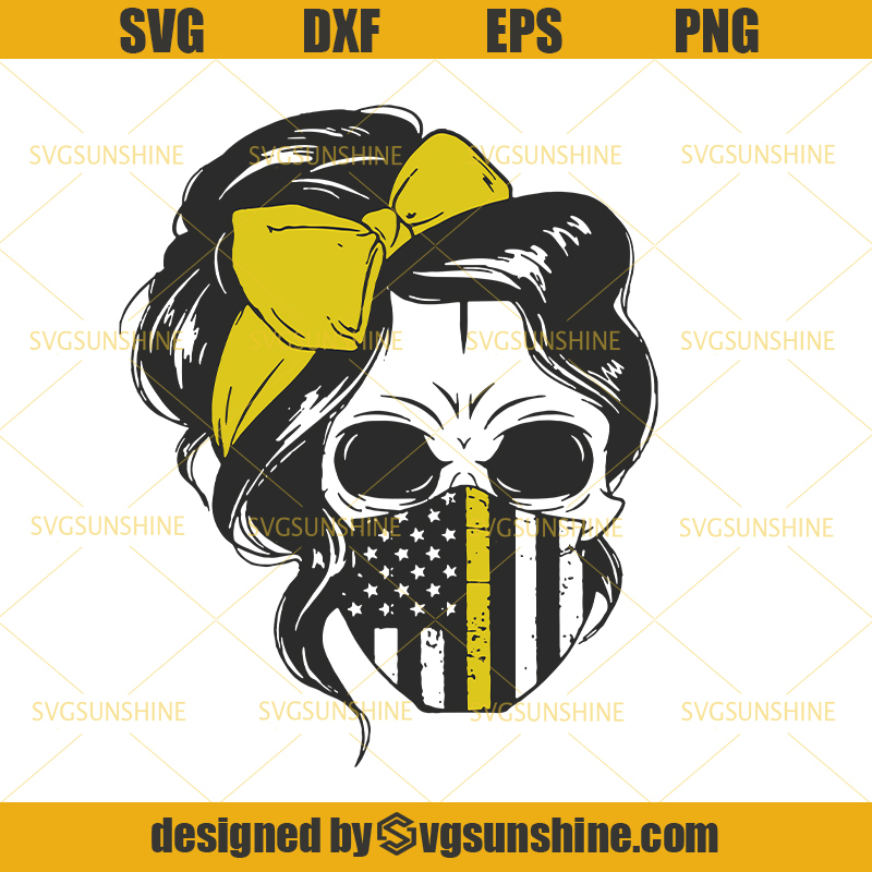 Skull Mom Wear Flag Facemask Svg Mom By Trendingdigitalshop On