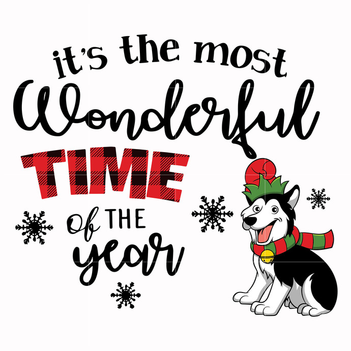 It S The Most Wonderful Time Of The Year Svg By Whitesvg On Zibbet