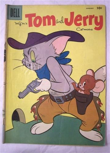 Tom and Jerry Comic Book Dell 1958 Vol. 1 No. 162