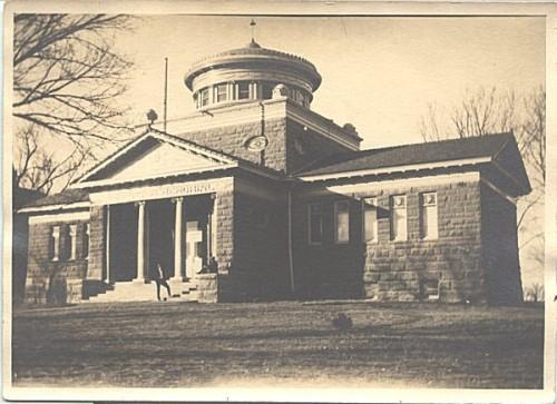 Vintage Photo Anderson Memorial Library Emporia Kansas Photograph