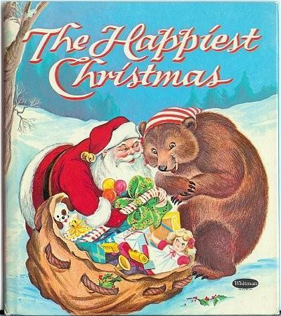 Childrens Book The Happiest Christmas Whitman Tell a Tale 2513 Santa