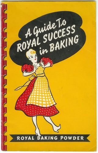 Vintage Cookbook Royal Baking Powder Recipes 1941