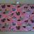 Pin board/ Notice Board/ Memo/ Pink Cup Cakes
