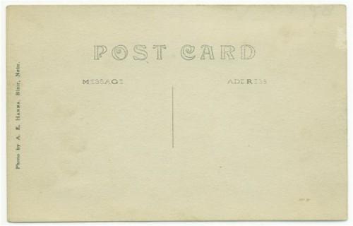 Burwell Nebraska Postcard Congregational Church Vintage 1910s View