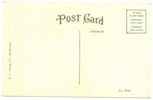 Clay Center Kansas Vintage 1910s Postcard Carnegie Library