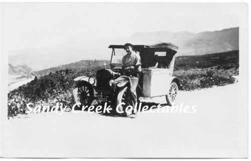 Ratun Pass Colorado Vintage 1930s Photo Photograph Antique Car
