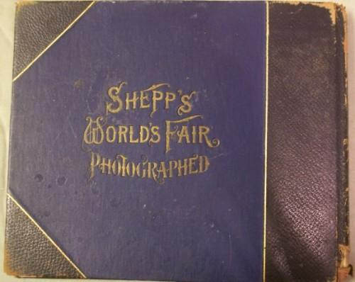 Shepps Worlds Fair Photographed Salesman Sample Book
