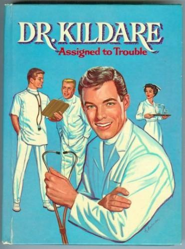 Childrens Book Dr. Kildare Assigned to Trouble Vintage 1963 Whitman Hardcover