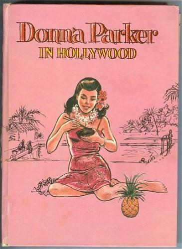 Whitman Book Donna Parker in Hollywood Vintage 1961 Hardcover
