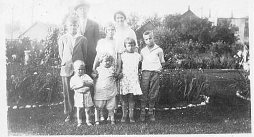 Vintage Photo Photograph IDD Reverend Holmgren Kansas Black and White Genealogy
