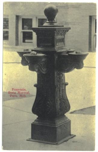 Peru Nebraska Postcard 1910s Fountain State Normal 23928