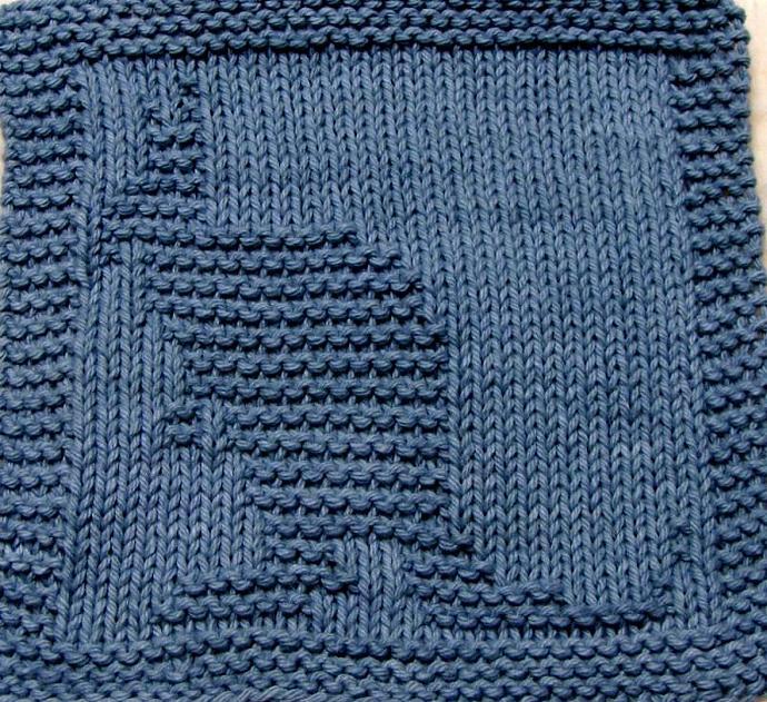 Knitting Cloth Pattern - KANGAROO PDF