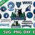 Minnesota Timberwolves digital file Logo Svg, Eps, Dxf, Png, budle svg for