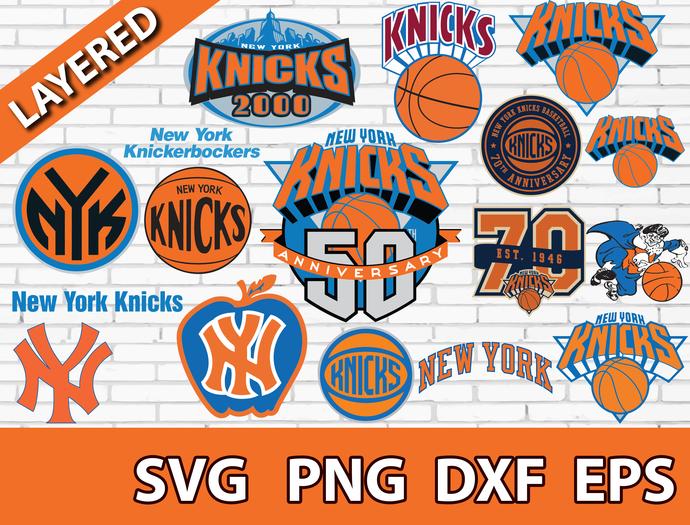 New York Knicks digital file Logo Svg, Eps, Dxf, Png, budle svg for cricut,