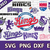 Sacramento Kings digital file Logo Svg, Eps, Dxf, Png, budle svg for cricut,