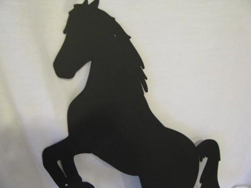 Horse 6 Medium Metal Western Cowboy Wall Yard Art Animal Silhouette