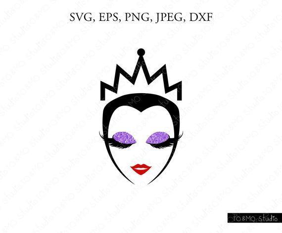 Evil Queen Mom Halloween Svg Monster By Kathytylerdesign On Zibbet