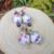 Handmade Ceramic and Glass Earrings