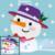 Mrs Snowman SC & Mini c2c Mix includes graph with color block instructions