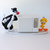 Toshiba Warner Bros. Plastic Radio - Looney Tunes Tweety And ‎Sylvester w/ Air