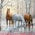 CRAFTS Wild Winter Trio Horses Cross Stitch Pattern***LOOK***X***(INSTANT