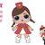 Majorette Lol SVG, LOL Surprise Doll, Lol, Cricut file, silhouette, print File
