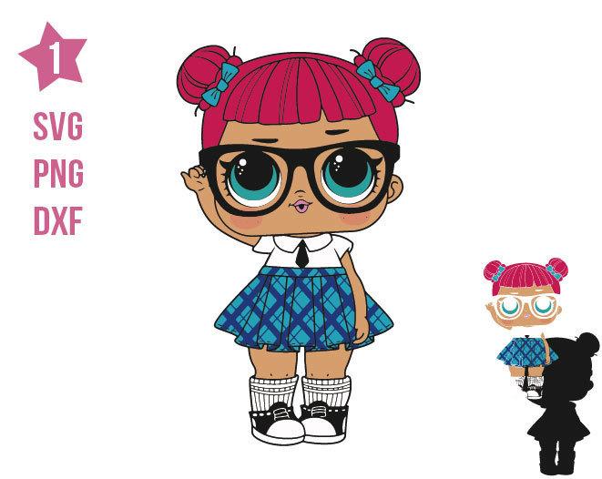 Teacher's Lol SVG, LOL Surprise Doll, Lol, Cricut file, silhouette, print File