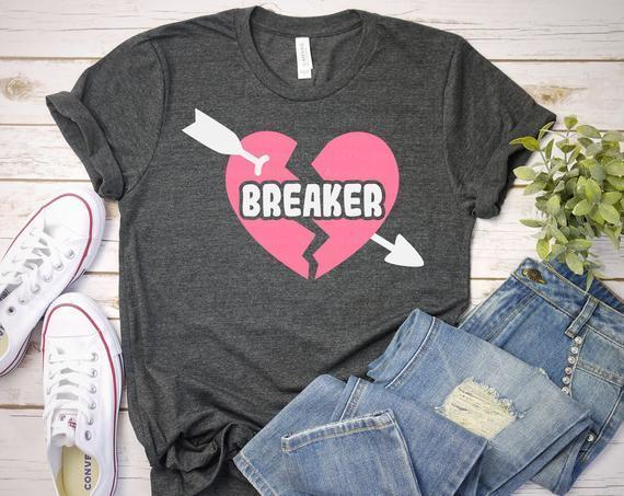 Heart Breaker Svg Heart With Arrow Svg By Corkery Store On Zibbet