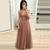 WDG0211,V-neck Beaded Long Prom Dress 8th Graduation Dress Custom-made School