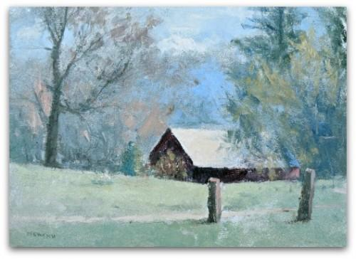 Artist Trading Card - Winchester Barn