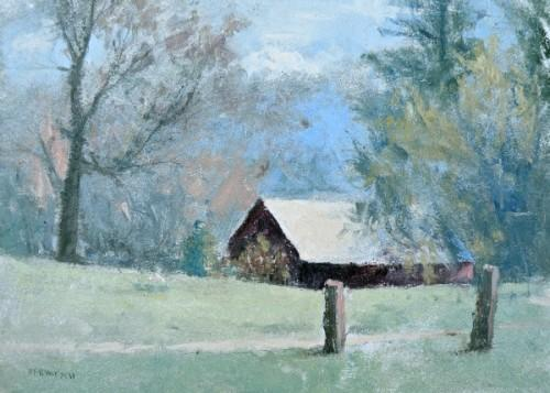 Giclee print - 5x7 Winchester Barn