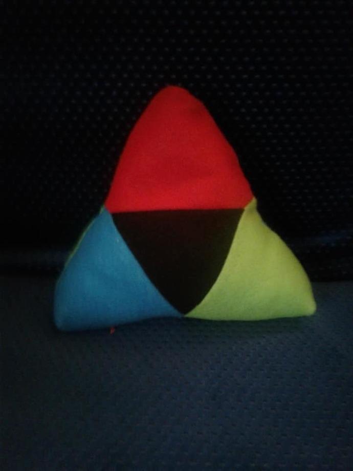 "8x8"" Plushy Triforce Custom Order"