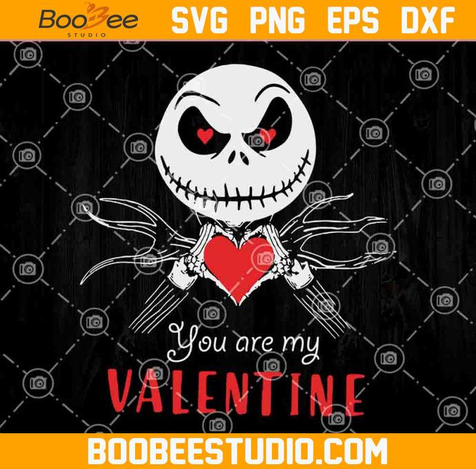 You Are My Valentine Svg Jack Skellington By Vanessa On Zibbet