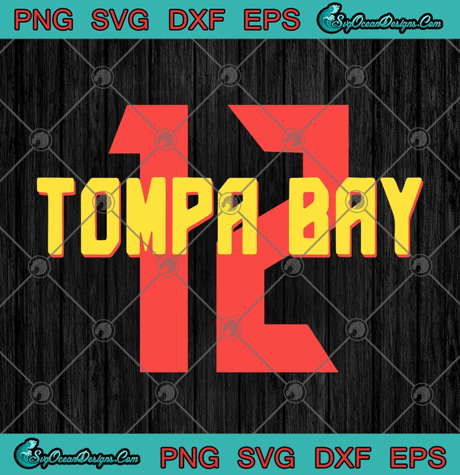 Tom Brady 12 Tampa Bay Buccaneers Svg Png Eps By Taylkesvg On Zibbet