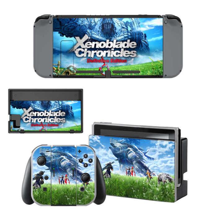 Xenoblade chronicles Nintendo switch Skin