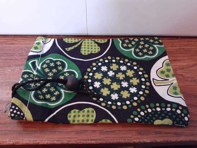 4 leaf Clover Dice Bag