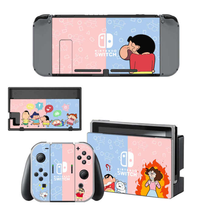 Shin chan Nintendo switch Skin